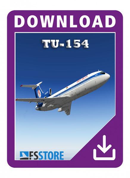 tupolev 154 x-plane