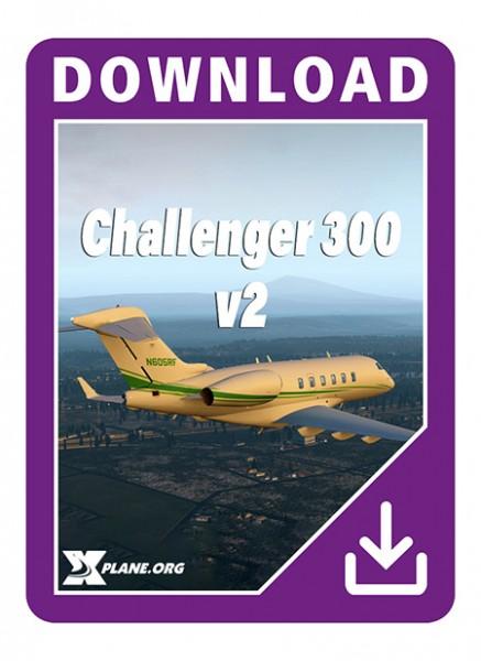 challenger 300 x-plane