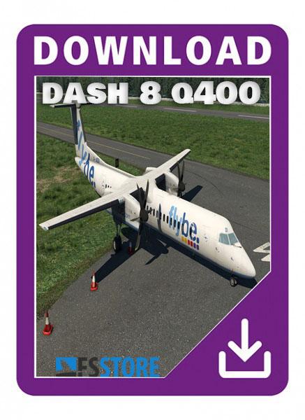 Dash 8 Q400  x-plane