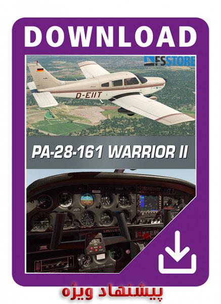 Just flight pa-28 warrior 2 and arrow 3