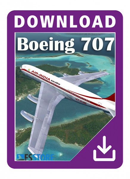 Boeing 707-300-400 xplane 11