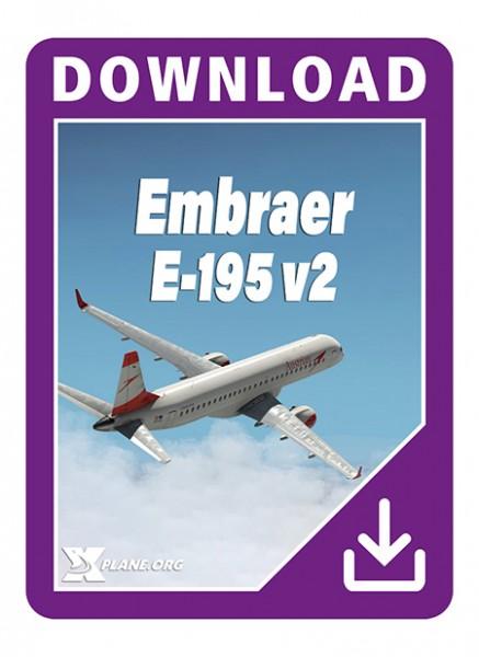 Embraer E 195  v2.2  XP11