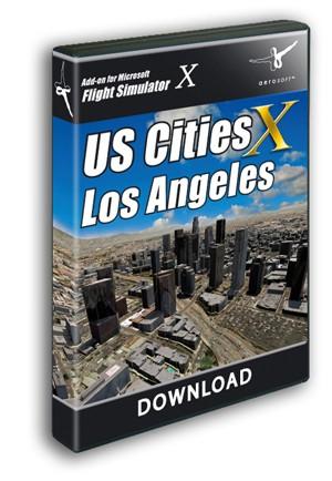 US Cities X - Los Angeles  Xplane 11