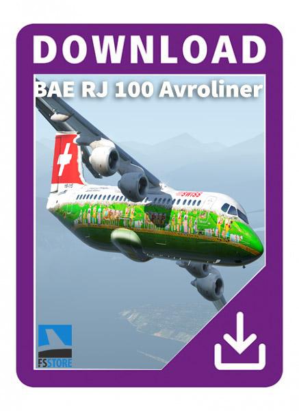 BAE RJ 100 v.8