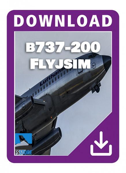 flyjsim 737-200 twin jet Pro