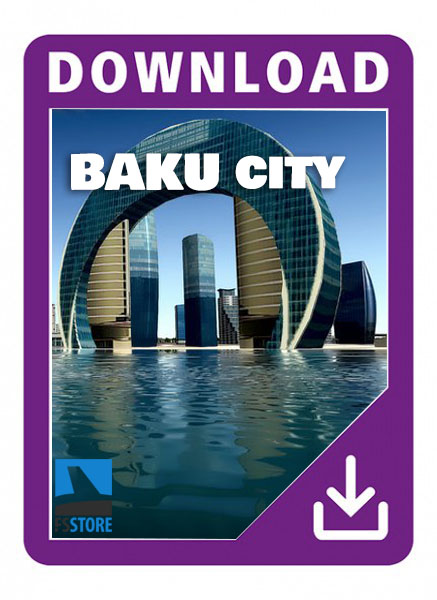 UBBB Baku Airport and City XP