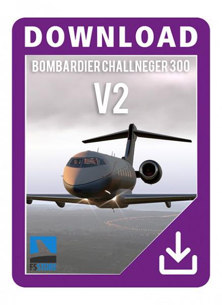 Bombardier Challenger 300 v2