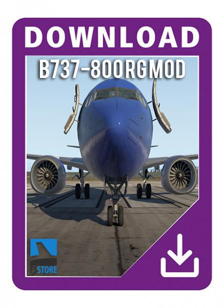 دانلود هواپیما Boeing 737 RG MOD