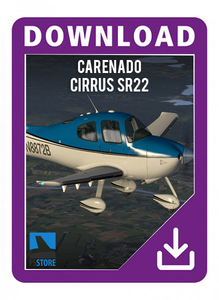 Carenado cirrus SR22 GTSX TURBO HD SERIES