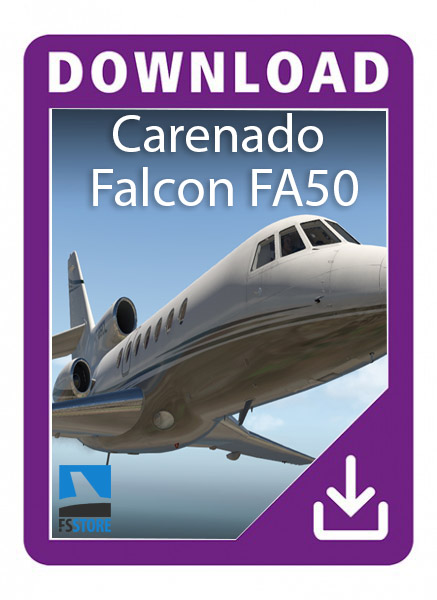 Carenado Falcon 50 EX v1.1
