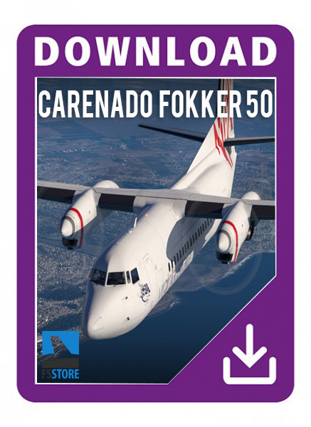 Carenado Fokker 50