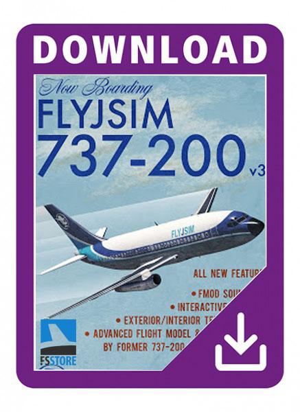 FlyJsim Boeing 737-200 V3.1
