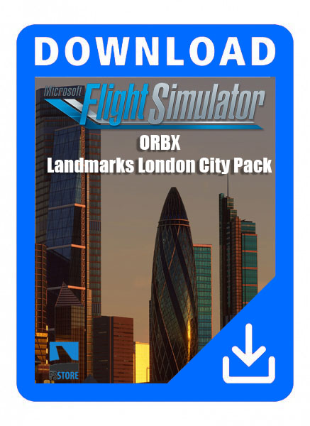 ORBX Landmark London City Pack for Microsoft Flight Simulator 2020