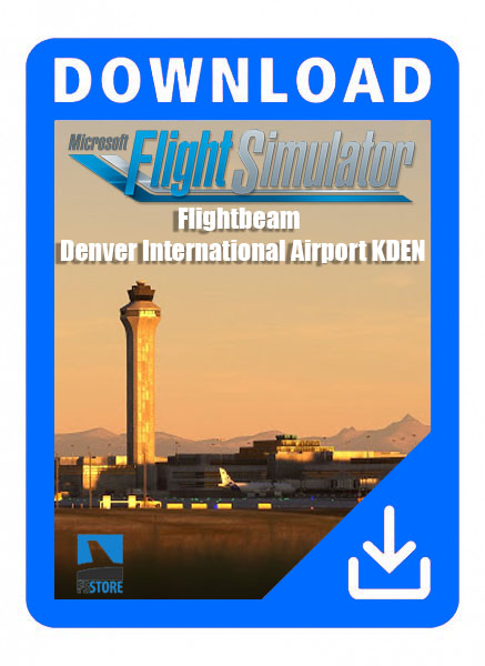 Flightbeam - Denver International Airport KDEN for MSFS 2020
