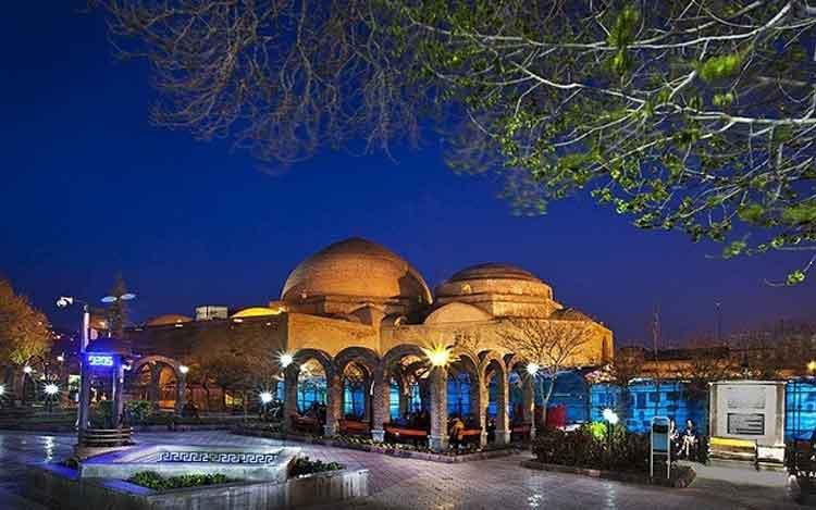 دانلود نقشه اتوکدی مسجد کبود تبریز با فرمت  dwg