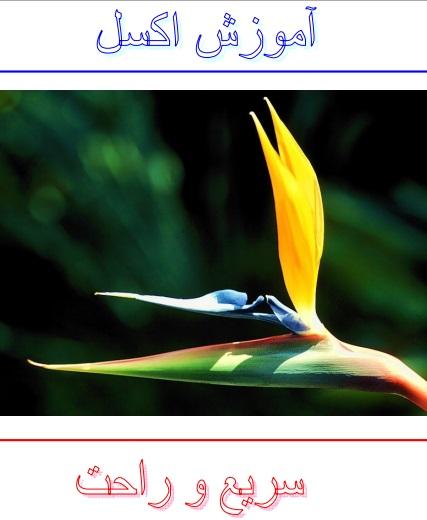 کتاب کامل آموزش تصویری مرحله به مرحله نرم افزار اکسل