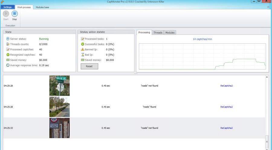 کپ مانستر کرک شده (2.10.8.1) CapMonster Pro Cracked