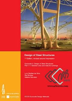 دانلود کتاب لاتین طراحی سازه های فلزی Eurocode 3  لوئیس داسیلوا