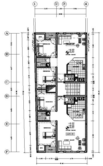 4 طبقه 8.45*20
