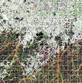 نقشه  اتوکد کاداستر کاشان-قسمت اول