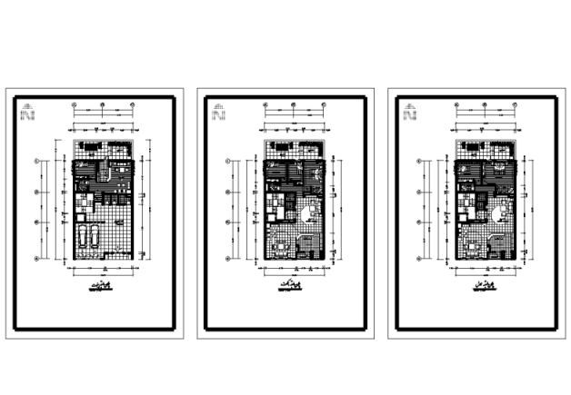 طراحی معماری نقشه آپارتمان 10*16.60