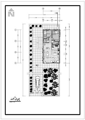 نقشه ویلایی دوخوابه 6*9