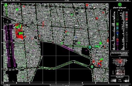 نقشه های هوایی تهران