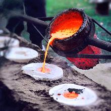 گزارش کارآموزی شرکت ریخته گری و ذوب فلز