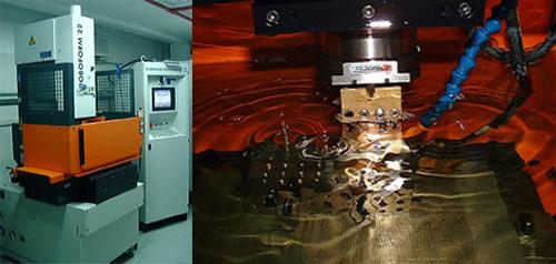 ماشینکاری به روش تخلیه الکتریکی (EDM)