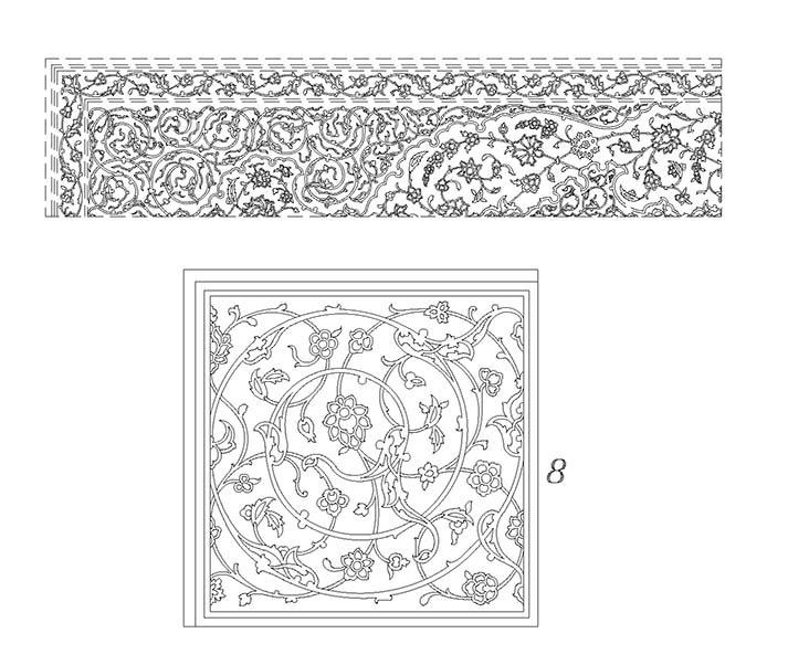 پترن اسلامی-islamic pattern