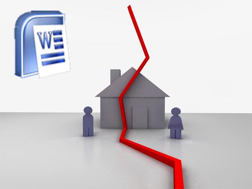 """دانلود مقاله و کار تحقیقی با عنوان """"اثرات وعوامل مؤثر بر طلاق در خانواده ها"""" - علوم اجتماعی - word"""