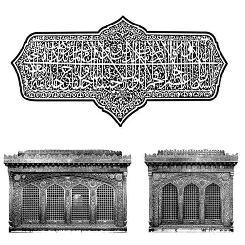 طرح حکاکی با دستگاه لیزر ( ضریح متبرک حضرت امام رضا علیه السلام )