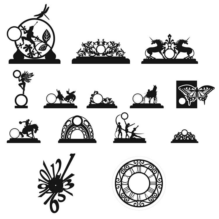 طرح ساعت رو میزی فانتزی ( 14 طرح مختلف )