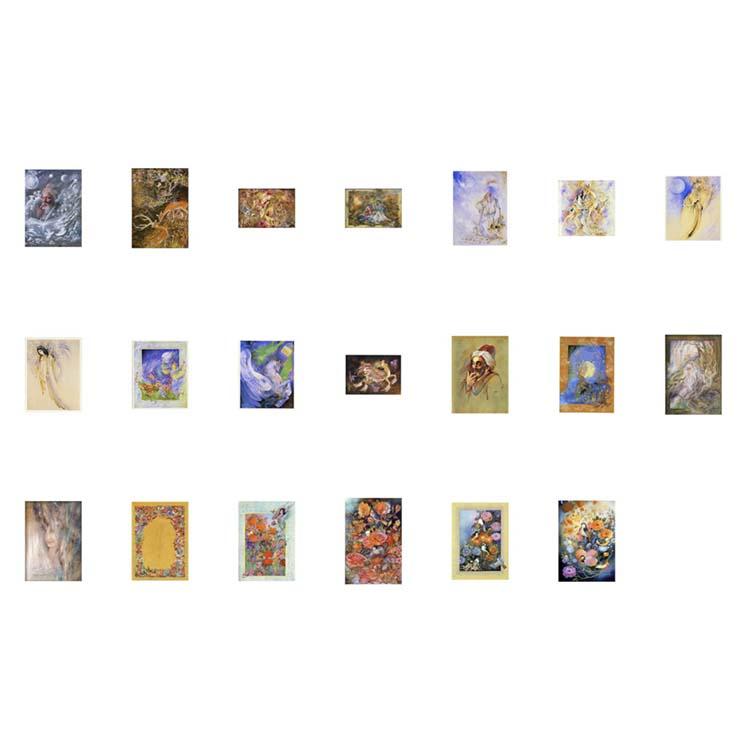 پوسترهای مینیاتور با کیفیت بالا ( بیست طرح ) مجموعه شماره 4