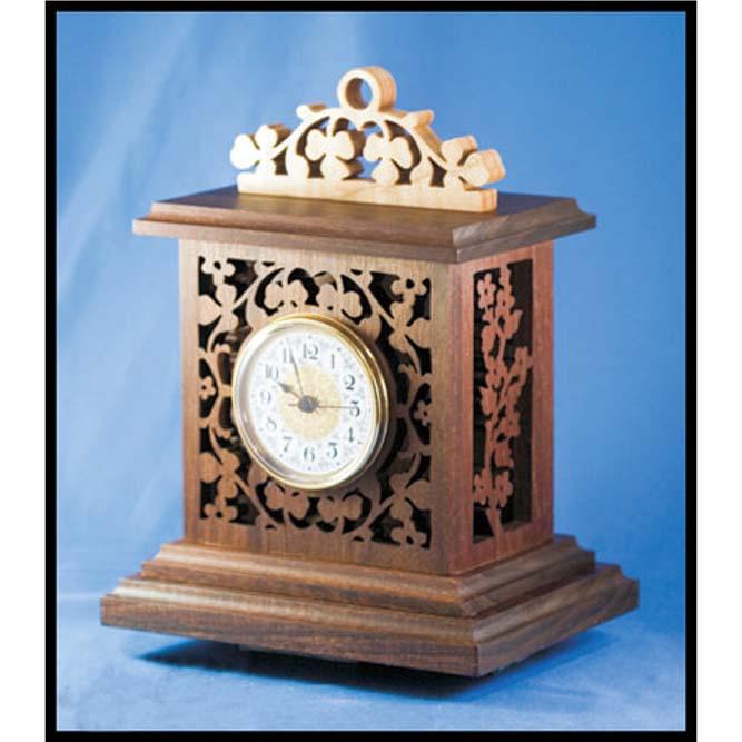 ساعت مشبک رومیزی