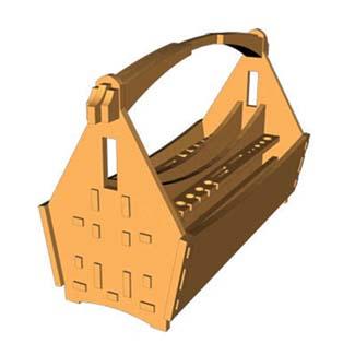 جعبه ابزار چوبی