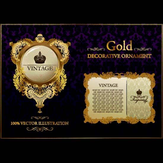Gold Vintage - 1