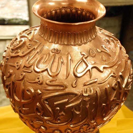 مقاله آشنایی با هنر های سنتی ایران :    هنر قلم زنی