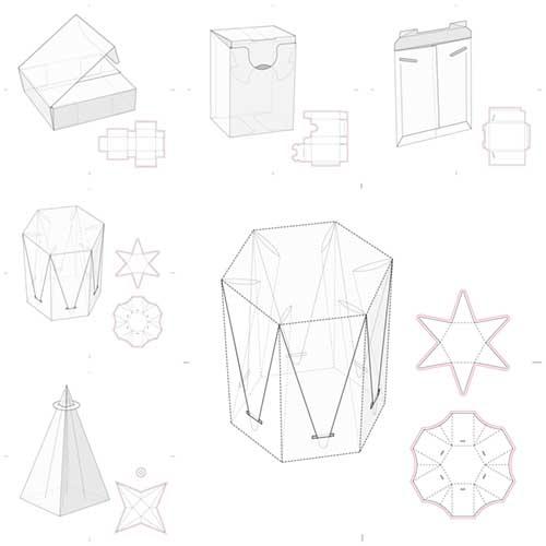 طرحهای بسته بندی (( وکتور ))  مجموعه شماره   3