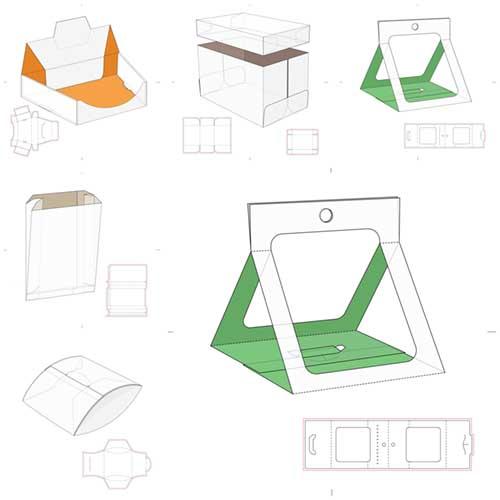 طرحهای بسته بندی (( وکتور ))  مجموعه شماره   4