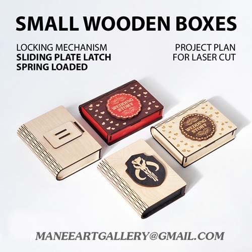 جعبه  به شکل کتاب   طرح شماره    2  . اسکرول ساو