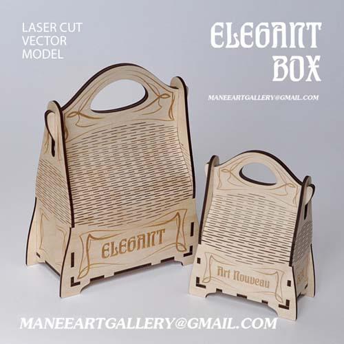 جعبه  به شکل ساک دستی عمودی  . اسکرول ساو