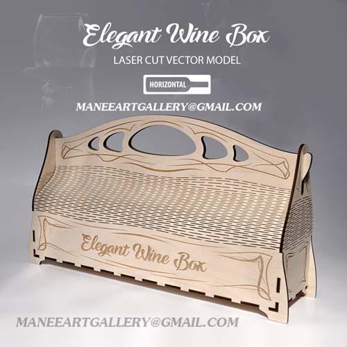 جعبه  به شکل ساک دستی افقی  . اسکرول ساو