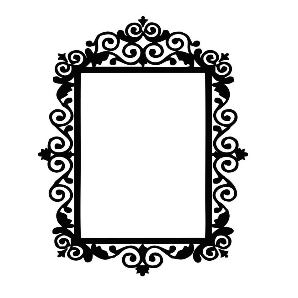 طرح برای قاب آینه   طرح شماره 1