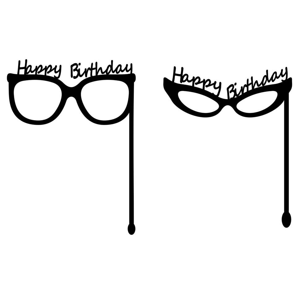 عینک جشن تولد مجموعه شماره   1
