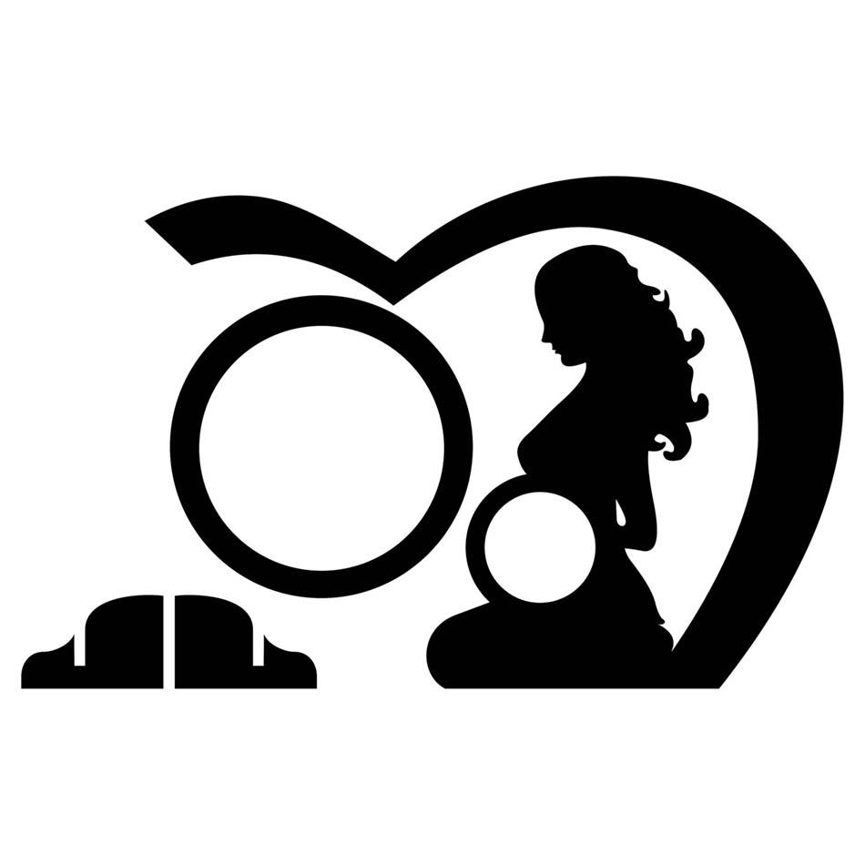 قاب عکس مادر و کودک ( تصویر سونوگرافی کودک )   طرح شماره    2