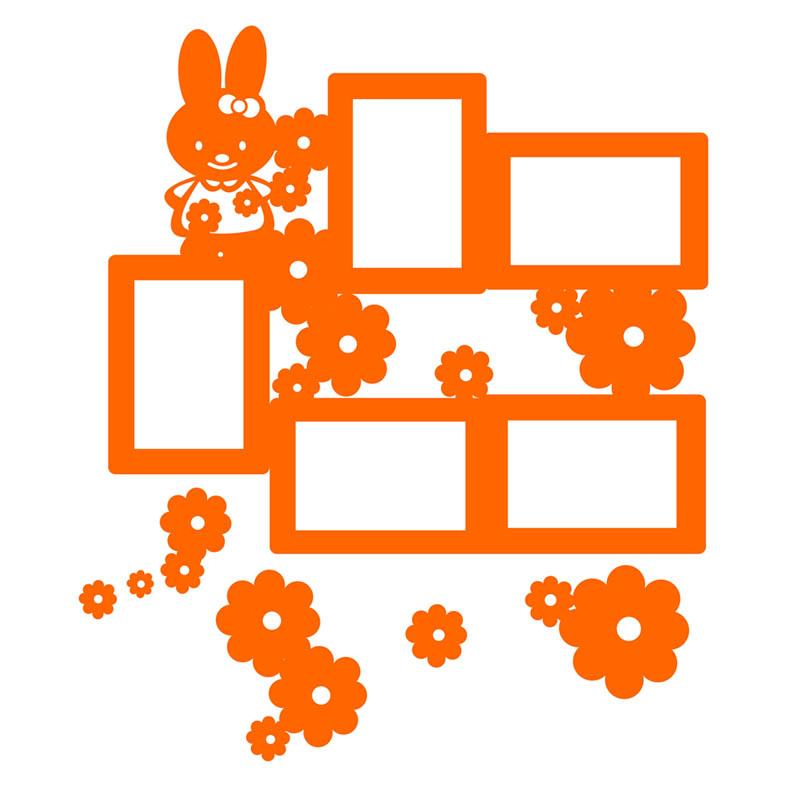 قاب عکی فانتزی دیواری ( برای اتاق کودک و نوجوان )  طرح شماره    1