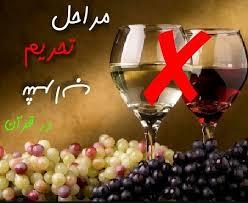 شيوه قرآن در تحريم شراب