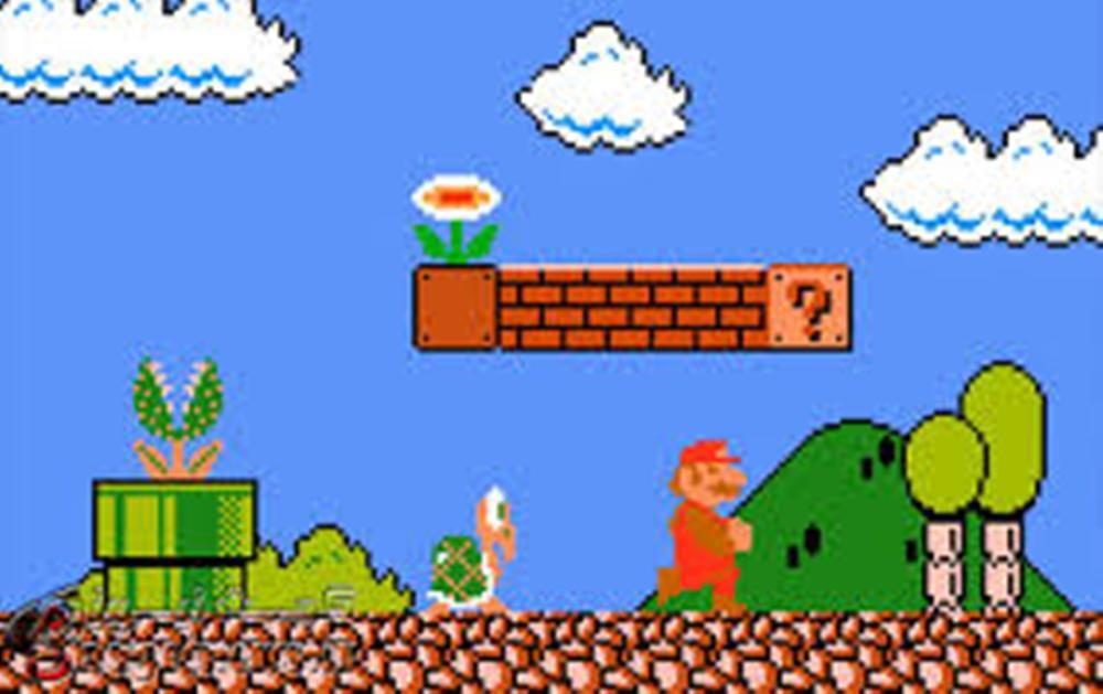 بازی خاطره انگیز قارچ خور