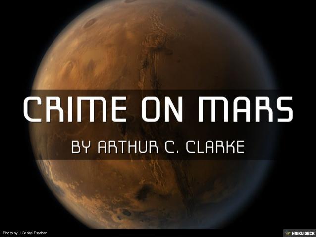 جرم بر روی مریخ Crime on Mars